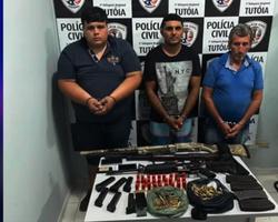 Presos acusados de arrombar agências bancárias de Tutóia no Maranhão