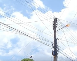 Moradores do bairro Anita Ferraz sofrem com 48 horas sem energia