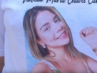 Familiares de Vanessa Carvalho fazem manifestação e pedem justiça