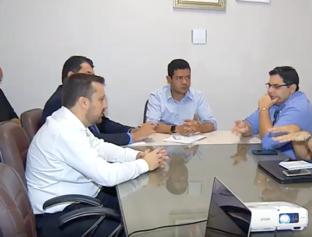 Prefeito Luciano Leitoa se reúne com presidente da Águas de Timon