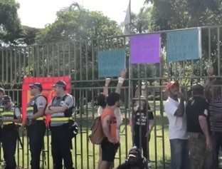 Embaixada da Venezuela é invadida por apoiadores do golpista Guaidó