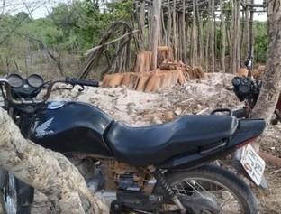 MA: Polícia localiza desmanche de moto em Timon
