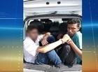 Dupla é presa acusada de diversos assaltos na zona Norte de Teresina