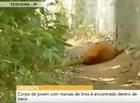 Corpo de jovem com marcas de tiros é encontrado dentro de beco