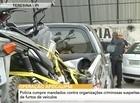 Polícia cumpre mandados a organizações suspeitas de furtos de carros