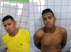 Criminosos roubam veículo e são presos após tentarem fugir a pé