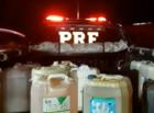 Mãe e filhos são flagrados furtando gasolina em posto de Teresina