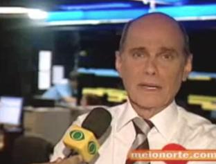 Jornalista Ricardo Boechat em entrevista à Rede Meio Norte em 2007
