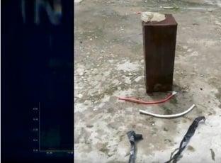 Polícia investiga assalto em fast food e apreende artefato explosivo