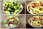 Quadro Sabor e Saúde - Dicas de saladas