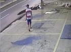Polícia tenta identificar suposto arrombador flagrado por câmera