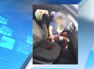 Homem é achado dentro de carro com perfurações no pescoço em THE