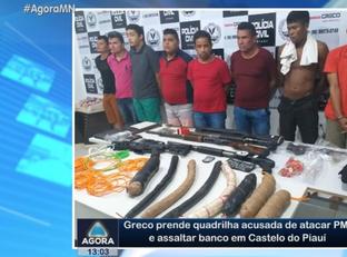 Taxista é preso suspeito de resgatar quadrilha em Castelo do Piauí