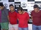 PM prende acusados de tentar assaltar banco em Castelo do PI