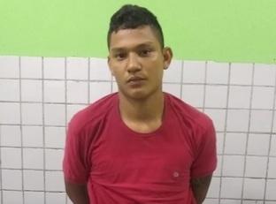 THE: Suspeito de assalto é perseguido e preso com arma de fogo
