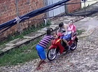 Apreendido suspeito de derrubar vítimas de moto durante assalto