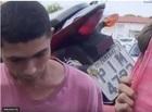 Dupla é presa com moto roubada e simulacro de arma de fogo em Teresina