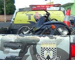 Homem é preso com moto roubada em Teresina-PI