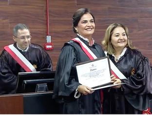 Juíza Liana Ferraz é empossada como desembargadora do TRT 22