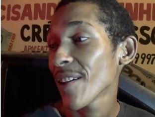 """THE: """"Wesley"""" zomba do trabalho da polícia após ser preso por assalto"""
