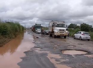 PRF faz levantamento de buracos nas rodovias do estado