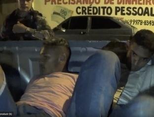 Dupla é presa com motocicleta roubada e simulacro de arma de fogo