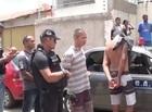Dupla é presa acusada de roubar arma de Policial Civil