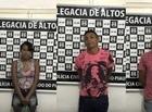 Casal foragido da justiça é preso acusado de tráfico em Altos