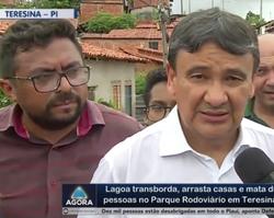 """""""A prioridade agora é cuidar das pessoas"""", diz Wellington Dias"""