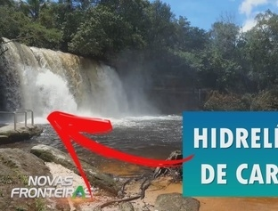 A hidrelétrica abandonada de Carolina - MA