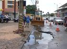 Chuvas causam transtorno em THE e drenagem ajuda a reduzir impactos