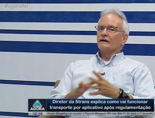 Diretor da Strans explica como vai funcionar os app em THE