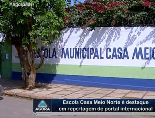Escola Casa Meio Norte é destaque em reportagem de site internacional