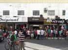 Dupla armada assalta loja, troca tiros com clientes e são baleados PI