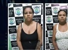 Mulheres são presas acusadas de gerenciar boca de fumo em Teresina