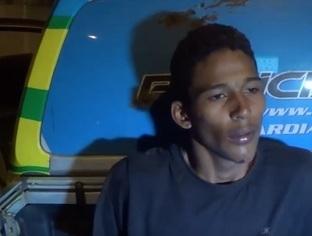 Após perseguição, dois homens são presos com veículo roubado em THE
