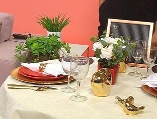 Aprenda a decorar uma mesa especial para o Dia dos Namorados