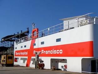 Barco-Hospital saiu de Fortaleza rumo ao rio Amazonas