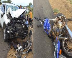 Idoso morre durante colisão entre carro e moto na BR-230 em  Oeiras
