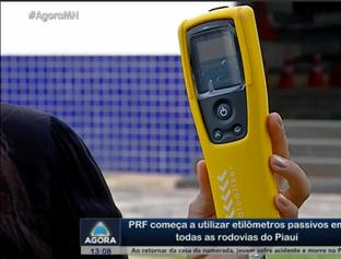 PRF começa a utilizar etilômetros passivos em todas as rodovias do PI
