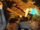 THE: Dois suspeitos de assaltos ficam feridos e polícia encontra arma