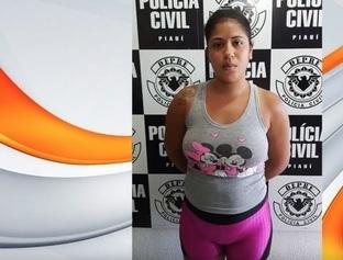"""""""Jéssica da Vila Irmã Dulce"""" é presa acusada de tráfico em Teresina"""