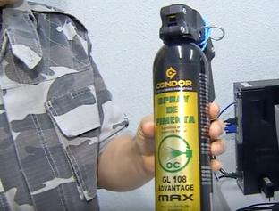 Projeto prevê comercialização de spray de pimenta para mulheres