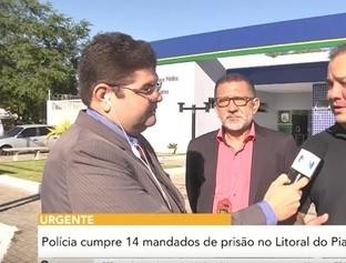 Polícia cumpre 14 mandados de prisão no Litoral do Piauí