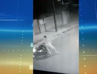 Vítima reage e tenta agredir suspeito durante assalto no Deus Quer