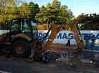 Acidente com escavadeira deixa homem ferido na zona Leste de Teresina