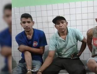 Trio é preso com várias peças de motos roubadas em Teresina