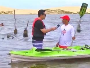 MN Verão te leva para um passeio de caiaque na Lagoa do Portinho