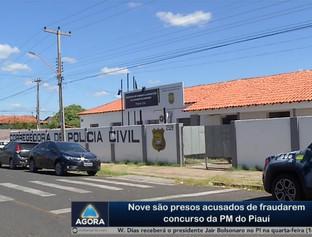 Nove são presos acusados de fraudarem concurso da PM do Piauí