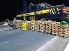 PRF apreende droga escondida em caminhão avaliada em R$ 2 milhões